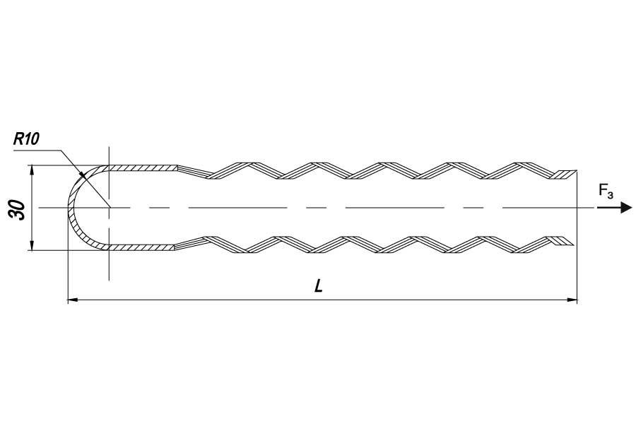 Натяжные  спиральные зажимы НСО 50  НСО 75  для монтажа ОКСН