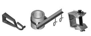 Кронштейны и узлы для крепления оптического кабеля