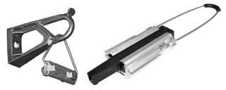 Зажимы для оптического кабеля и оптического кабеля типа